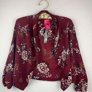 "A""gaci women's short blazer"
